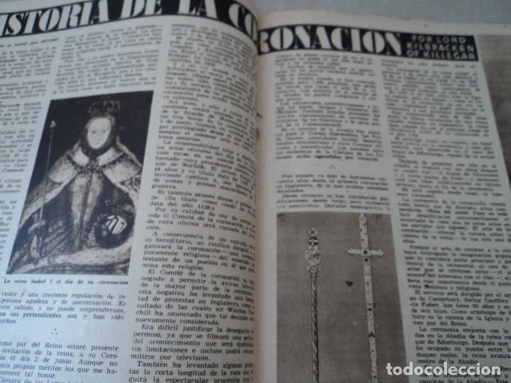 Coleccionismo de Revista Destino: REVISTA DESTINO Nº 972, AÑO 1953 MOMIAS EN EL VALLE DE LOS REYES ver fotos - Foto 9 - 192243718