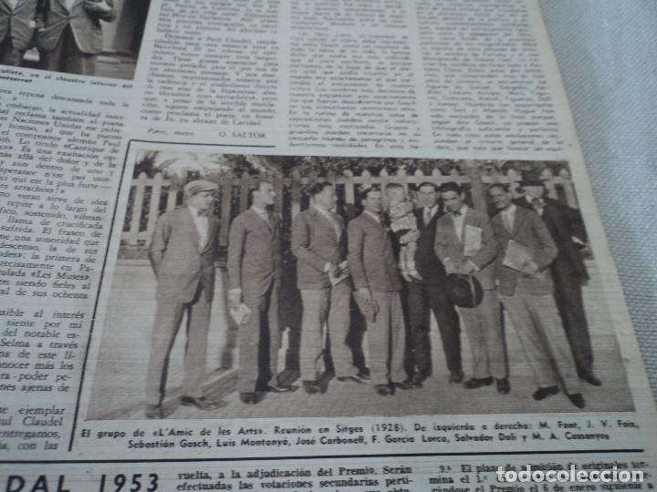 Coleccionismo de Revista Destino: REVISTA DESTINO Nº 972, AÑO 1953 MOMIAS EN EL VALLE DE LOS REYES ver fotos - Foto 11 - 192243718