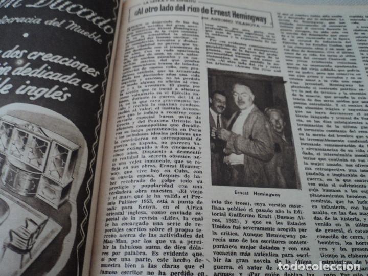 Coleccionismo de Revista Destino: REVISTA DESTINO Nº 972, AÑO 1953 MOMIAS EN EL VALLE DE LOS REYES ver fotos - Foto 12 - 192243718