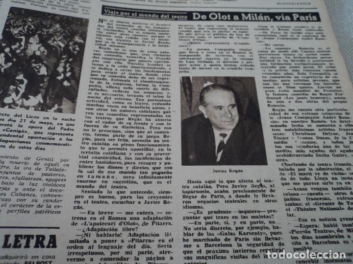 Coleccionismo de Revista Destino: REVISTA DESTINO Nº 972, AÑO 1953 MOMIAS EN EL VALLE DE LOS REYES ver fotos - Foto 13 - 192243718