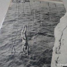 Coleccionismo de Revista Destino: REVISTA DESTINO Nº 1039 AÑO VICTORIA DE LOS ANGELES1957 VER FOTOS. Lote 192243878