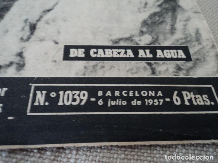 Coleccionismo de Revista Destino: REVISTA DESTINO Nº 1039 AÑO VICTORIA DE LOS ANGELES1957 ver fotos - Foto 2 - 192243878