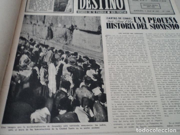 Coleccionismo de Revista Destino: REVISTA DESTINO Nº 1039 AÑO VICTORIA DE LOS ANGELES1957 ver fotos - Foto 3 - 192243878