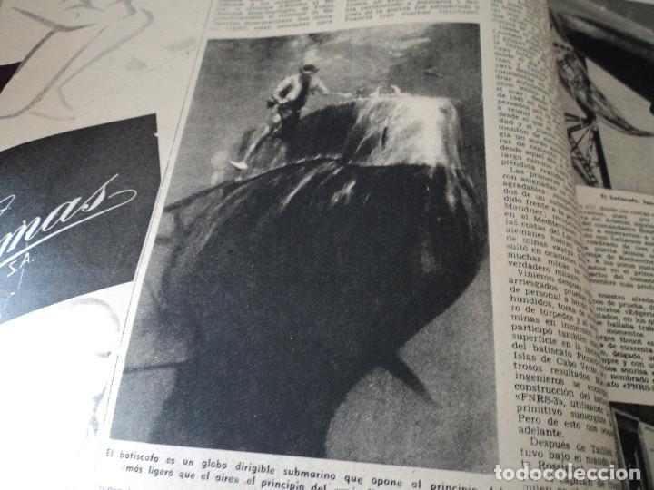 Coleccionismo de Revista Destino: REVISTA DESTINO Nº 1039 AÑO VICTORIA DE LOS ANGELES1957 ver fotos - Foto 7 - 192243878