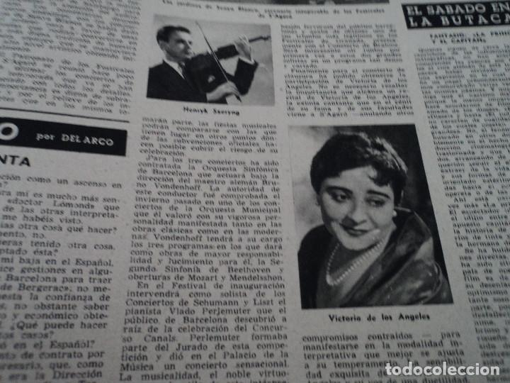 Coleccionismo de Revista Destino: REVISTA DESTINO Nº 1039 AÑO VICTORIA DE LOS ANGELES1957 ver fotos - Foto 12 - 192243878