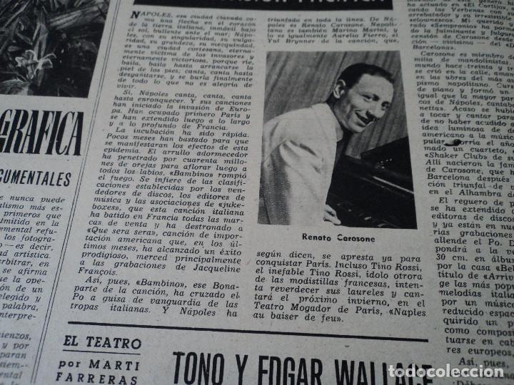 Coleccionismo de Revista Destino: REVISTA DESTINO Nº 1039 AÑO VICTORIA DE LOS ANGELES1957 ver fotos - Foto 13 - 192243878