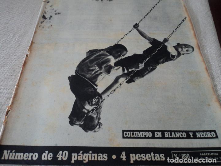 REVISTA DESTINO Nº 880 AÑO 1954 FERIAS DE MUESTRAS VER FOTOS (Coleccionismo - Revistas y Periódicos Modernos (a partir de 1.940) - Revista Destino)