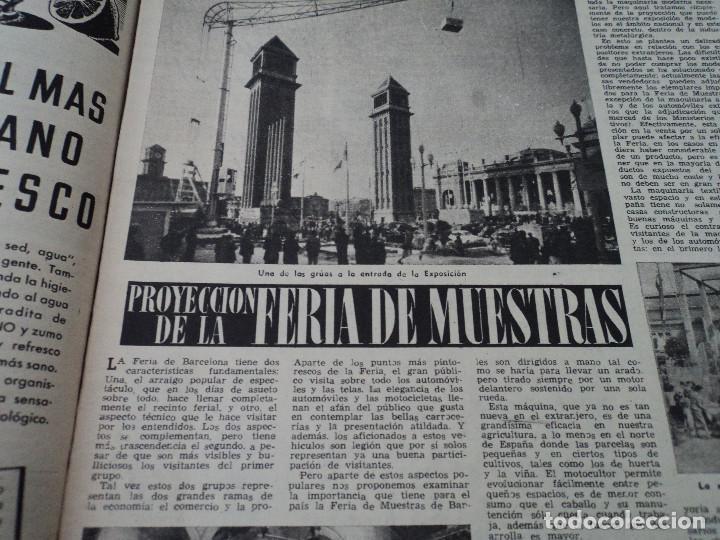 Coleccionismo de Revista Destino: REVISTA DESTINO Nº 880 AÑO 1954 ferias de muestras ver fotos - Foto 5 - 192247205