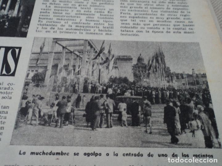 Coleccionismo de Revista Destino: REVISTA DESTINO Nº 880 AÑO 1954 ferias de muestras ver fotos - Foto 6 - 192247205
