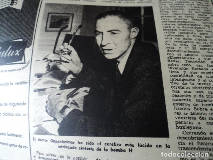Coleccionismo de Revista Destino: REVISTA DESTINO Nº 880 AÑO 1954 ferias de muestras ver fotos - Foto 7 - 192247205