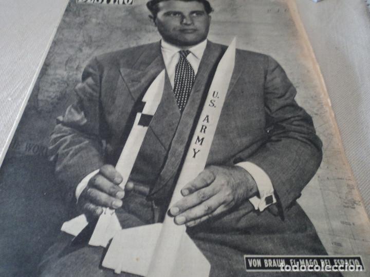 REVISTA DESTINO Nº 1070 AÑO 1958 BUENOS AIRES DE ENTRADA VER FOTOS (Coleccionismo - Revistas y Periódicos Modernos (a partir de 1.940) - Revista Destino)