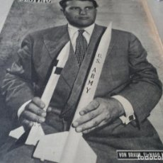 Coleccionismo de Revista Destino: REVISTA DESTINO Nº 1070 AÑO 1958 BUENOS AIRES DE ENTRADA VER FOTOS. Lote 192247321
