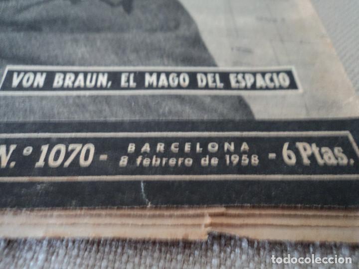 Coleccionismo de Revista Destino: REVISTA DESTINO Nº 1070 AÑO 1958 buenos aires de entrada ver fotos - Foto 2 - 192247321