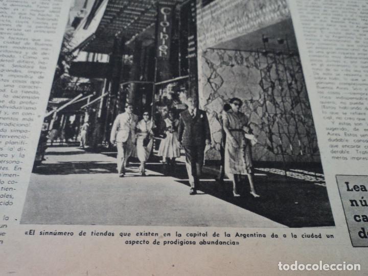 Coleccionismo de Revista Destino: REVISTA DESTINO Nº 1070 AÑO 1958 buenos aires de entrada ver fotos - Foto 4 - 192247321