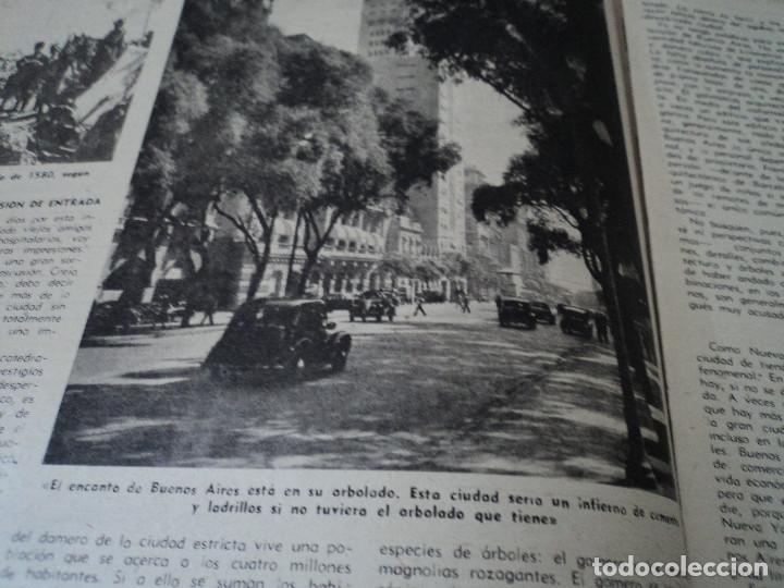 Coleccionismo de Revista Destino: REVISTA DESTINO Nº 1070 AÑO 1958 buenos aires de entrada ver fotos - Foto 5 - 192247321