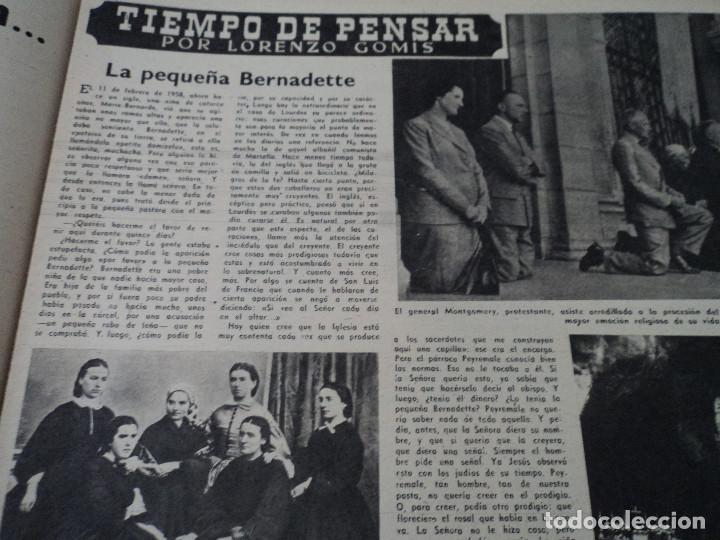 Coleccionismo de Revista Destino: REVISTA DESTINO Nº 1070 AÑO 1958 buenos aires de entrada ver fotos - Foto 6 - 192247321