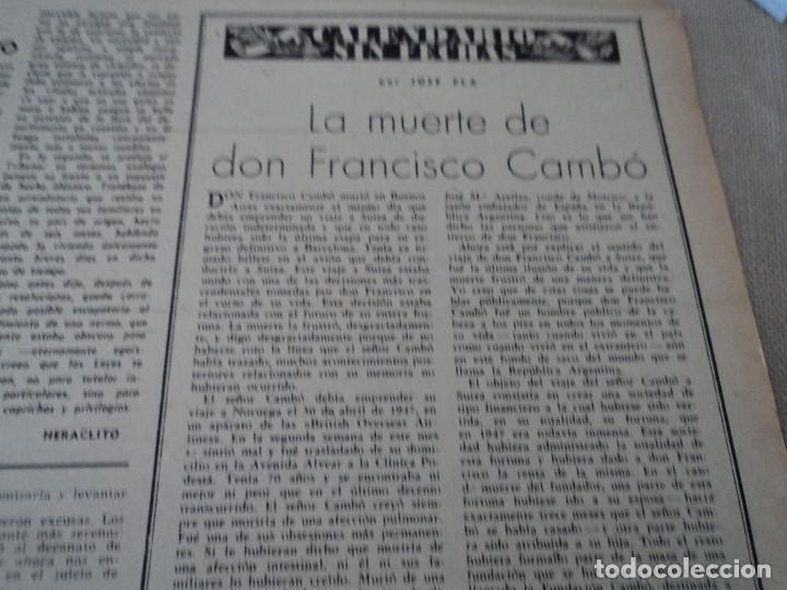 Coleccionismo de Revista Destino: REVISTA DESTINO Nº 1070 AÑO 1958 buenos aires de entrada ver fotos - Foto 7 - 192247321