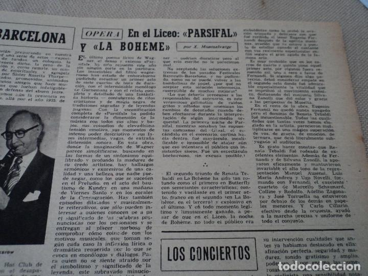 Coleccionismo de Revista Destino: REVISTA DESTINO Nº 1070 AÑO 1958 buenos aires de entrada ver fotos - Foto 10 - 192247321
