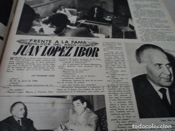 Coleccionismo de Revista Destino: REVISTA DESTINO Nº 1073 AÑO 1958 juan lopez ibor ver fotos - Foto 3 - 192247403