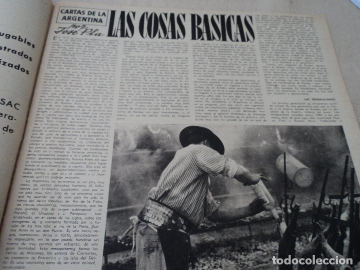 Coleccionismo de Revista Destino: REVISTA DESTINO Nº 1073 AÑO 1958 juan lopez ibor ver fotos - Foto 4 - 192247403