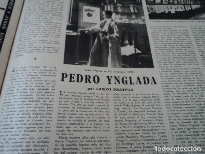 Coleccionismo de Revista Destino: REVISTA DESTINO Nº 1073 AÑO 1958 juan lopez ibor ver fotos - Foto 6 - 192247403