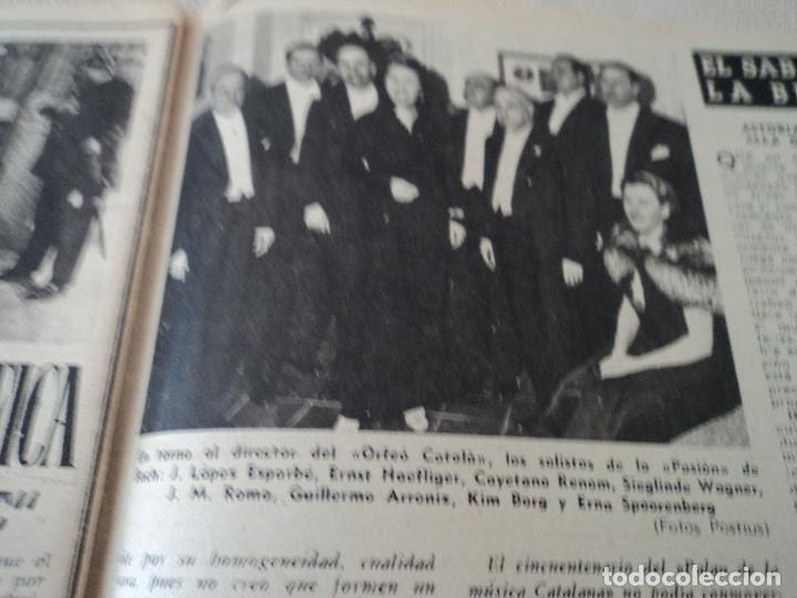 Coleccionismo de Revista Destino: REVISTA DESTINO Nº 1073 AÑO 1958 juan lopez ibor ver fotos - Foto 7 - 192247403