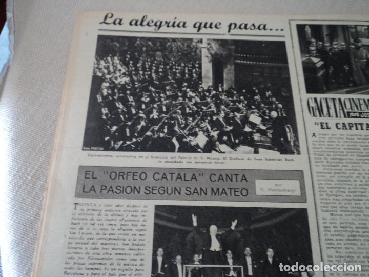 Coleccionismo de Revista Destino: REVISTA DESTINO Nº 1073 AÑO 1958 juan lopez ibor ver fotos - Foto 8 - 192247403