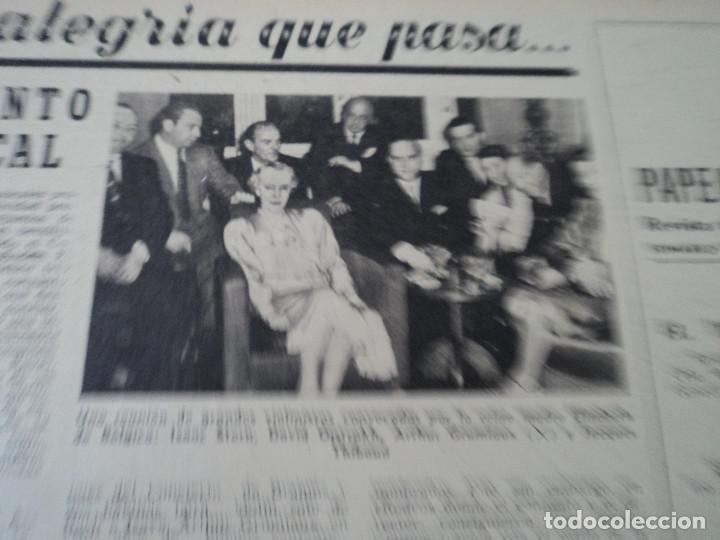 Coleccionismo de Revista Destino: REVISTA DESTINO Nº 1073 AÑO 1958 juan lopez ibor ver fotos - Foto 10 - 192247403