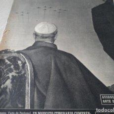 Coleccionismo de Revista Destino: REVISTA DESTINO Nº 1059 AÑO 1957 AVIONES A REACCION ANTE EL SANTO PADRE VER FOTOS. Lote 192247670
