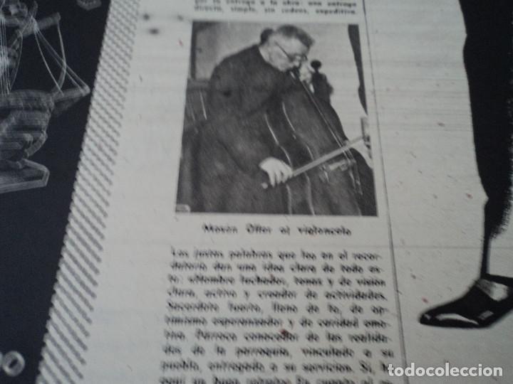 Coleccionismo de Revista Destino: REVISTA DESTINO Nº 1059 AÑO 1957 aviones a reaccion ante el santo padre ver fotos - Foto 4 - 192247670