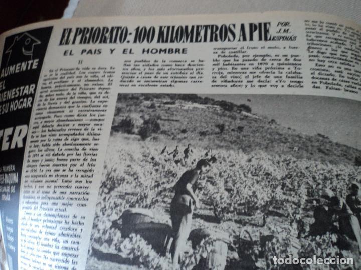 Coleccionismo de Revista Destino: REVISTA DESTINO Nº 1059 AÑO 1957 aviones a reaccion ante el santo padre ver fotos - Foto 8 - 192247670