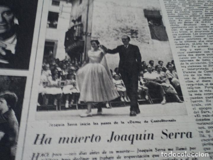 Coleccionismo de Revista Destino: REVISTA DESTINO Nº 1059 AÑO 1957 aviones a reaccion ante el santo padre ver fotos - Foto 11 - 192247670