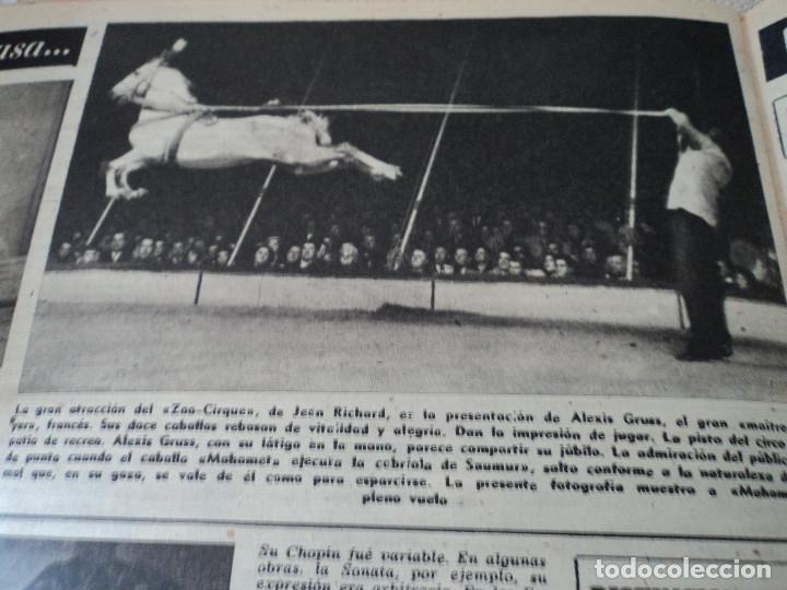 Coleccionismo de Revista Destino: REVISTA DESTINO Nº 1059 AÑO 1957 aviones a reaccion ante el santo padre ver fotos - Foto 12 - 192247670