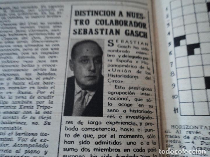Coleccionismo de Revista Destino: REVISTA DESTINO Nº 1059 AÑO 1957 aviones a reaccion ante el santo padre ver fotos - Foto 13 - 192247670