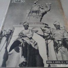 Coleccionismo de Revista Destino: REVISTA DESTINO Nº 1072 AÑO 1958 MAS DE BUENOS AIRES VER FOTOS. Lote 192247782
