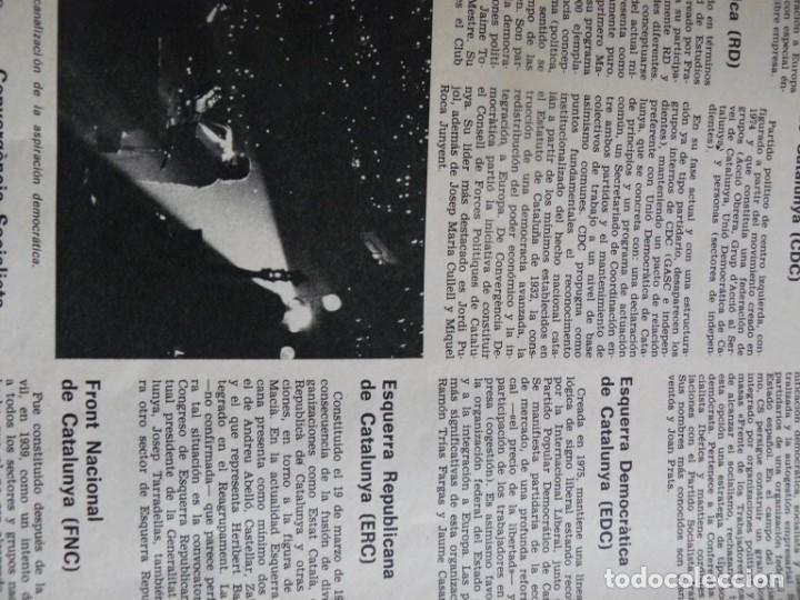 Coleccionismo de Revista Destino: REVISTA DESTINO - 17 DE MARZO DE 1976 - LOS PARTIDOS CATALANES - Nº 2006 - Foto 3 - 192264466