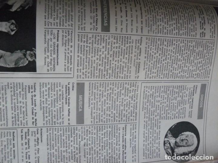 Coleccionismo de Revista Destino: REVISTA DESTINO - 17 DE MARZO DE 1976 - LOS PARTIDOS CATALANES - Nº 2006 - Foto 5 - 192264466