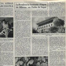 Coleccionismo de Revista Destino: AÑO 1959 SORDOMUDEZ JULIO COLL CINE CIRCO AMERICANO POBLA DE SEGUR RESIDENCIA VIRGEN RIBERA. Lote 11936922