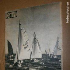 Coleccionismo de Revista Destino: DESTINO Nº 983 AÑO 1956 REGATA INTERNACIONAL EN EL PUERTO. Lote 194713406