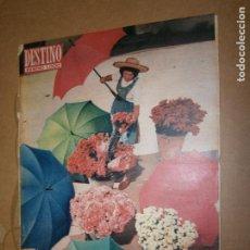 Coleccionismo de Revista Destino: DESTINO Nº 1000 AÑO 1956 NUMERO EXTRAORDINARIO 88 PAGINAS . Lote 194715457