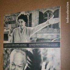 Coleccionismo de Revista Destino: DESTINO Nº 984 AÑO 1984 LA SIMPATIA DE LA REINA DE GRECIA. Lote 194716515