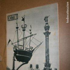 Coleccionismo de Revista Destino: DESTINO Nº 990 AÑO 1956 LA CARABELA DEL MUSEO MARITIMO . Lote 194718977