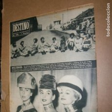 Coleccionismo de Revista Destino: DESTINO Nº 992 AÑO 1956 MUJERES. Lote 194720133