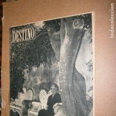 Coleccionismo de Revista Destino: DESTINO Nº 956 AÑO 1956 VICTOR CATALA EN LA ESCALA. Lote 194720768