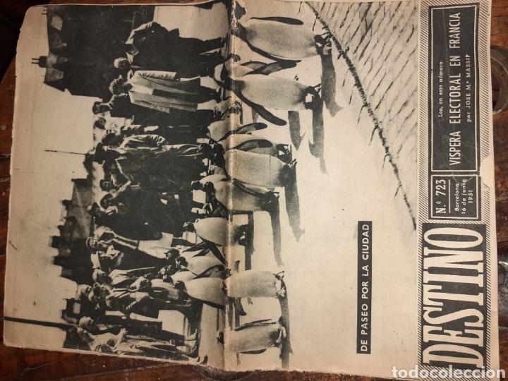 PERIÓDICO DESTINO (Coleccionismo - Revistas y Periódicos Modernos (a partir de 1.940) - Revista Destino)