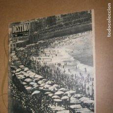 Coleccionismo de Revista Destino: DESTINO Nº 945 AÑO 1955 DOMINGO DE SEPTIEMBRE EN SAN SEBASTIAN. Lote 195211545