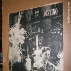 Coleccionismo de Revista Destino: DESTINO Nº 972 AÑO 1955 DOMINGO DE RAMOS . Lote 195212766