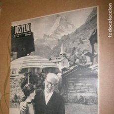 Coleccionismo de Revista Destino: DESTINO Nº 951 AÑO 1955 EL PRESIDENTE GRONCHI Y SU HIJA . Lote 195225817