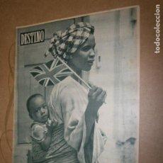 Coleccionismo de Revista Destino: DESTINO Nº 965 AÑO 1956 ESPERANDO A LA REINA . Lote 195226493