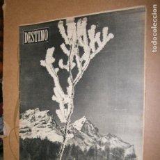 Coleccionismo de Revista Destino: DESTINO Nº 966 AÑO 1956 EL INVIERNO MAS FRIO. Lote 195306065